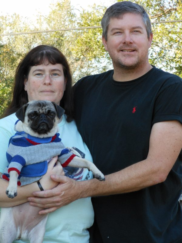 Pia Pia found a family who made saving her vision a priority. (Photo courtesy Dawn Taylor)