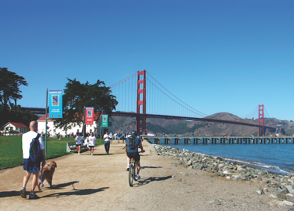 Crissy Field in San Francisco. (Photo by Shutterstock)