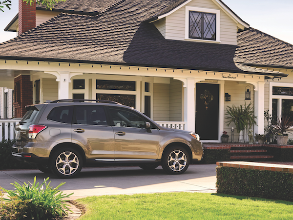 Subaru Forester. (Photo courtesy Subaru)