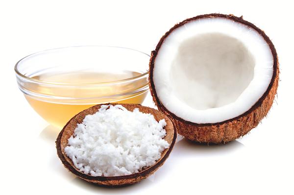 Coconut oil by Shutterstock.