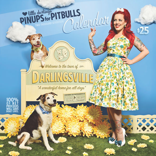 Pinups for Pitbulls publishes an annual calendar.