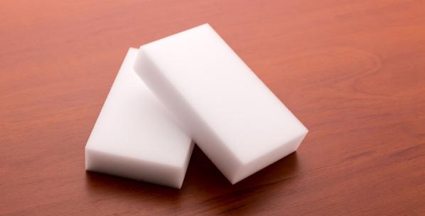 Melamine sponge by Shutterstock.
