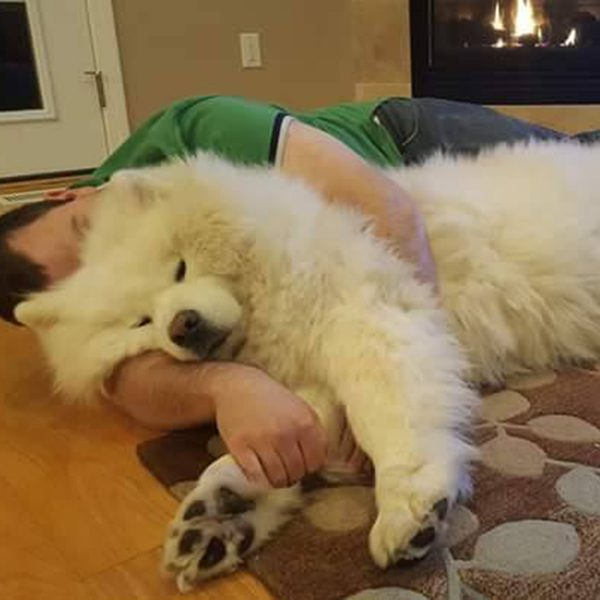 """""""Me and Kenji"""" -Submitted by Facebook user Scott Davis"""