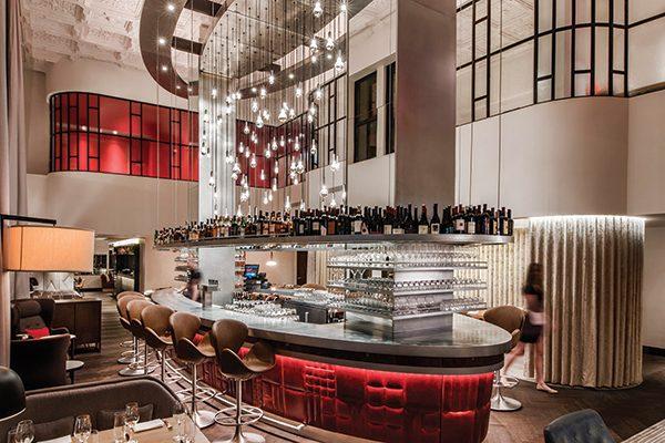 Inside Virgin Hotels Chicago.