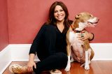 Rachael Ray and her dog, Isaboo.