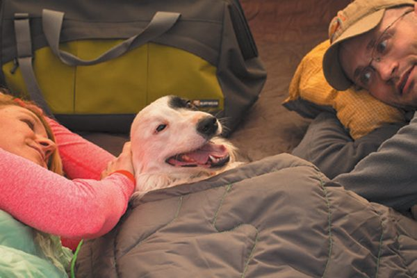 Ruffwear's Highlands Sleeping Bag.