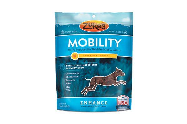 Zuke's Enhance Treats.