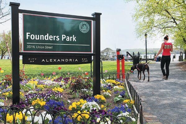 Founders Dog Park.