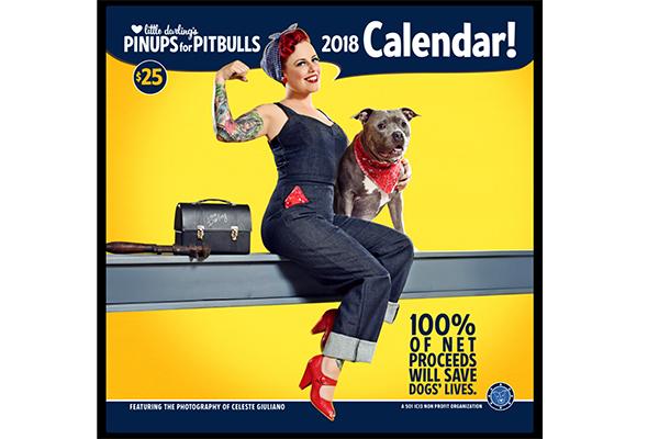 Pinups for Pitbulls calendar.