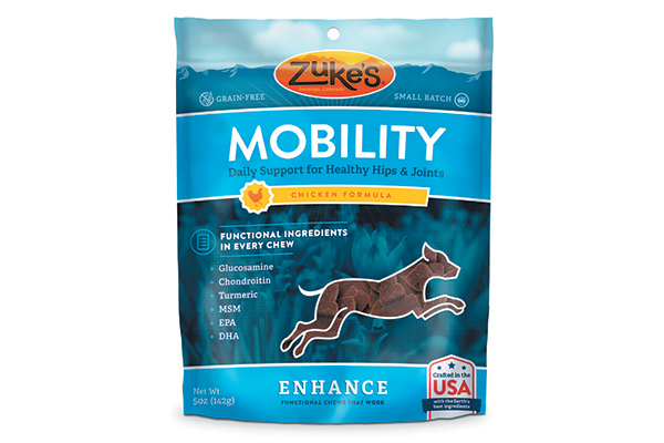 Zuke's Enhance Functional Chews for Mobility.