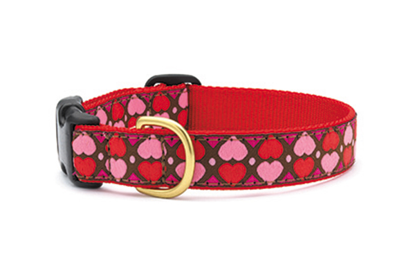 Hearts and Flowers & All Hearts collars from Up Country.