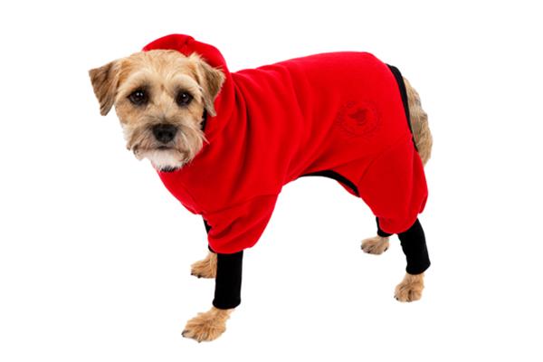 Canine Styles' Polar Fleece Track Suit.