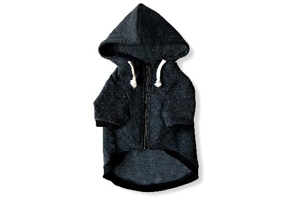 Dog hoodie.