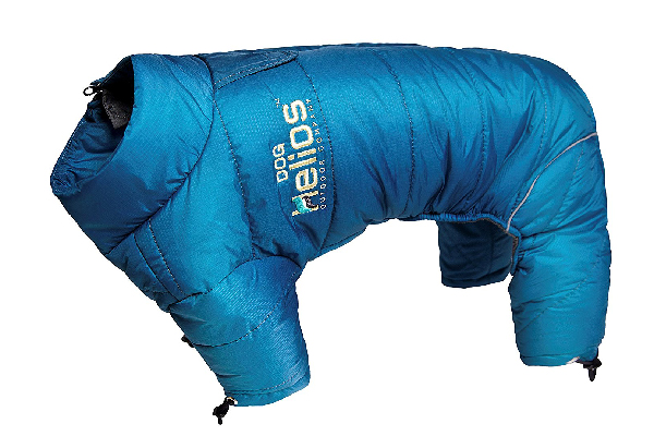 Dog snowsuit.
