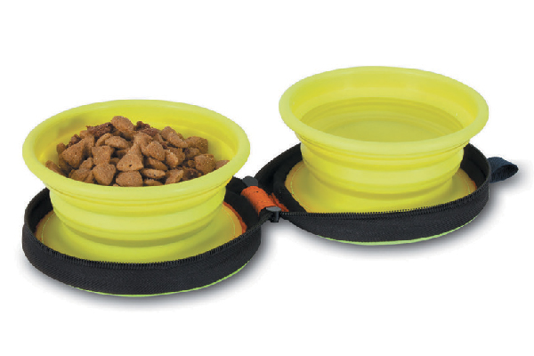 Silicone Travel Bowl Duo, petmate.com.