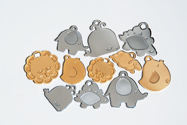 Sleepypod Pendants I.D. tags, sleepypod.com.