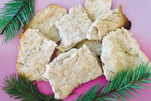 Rosemary crackers.