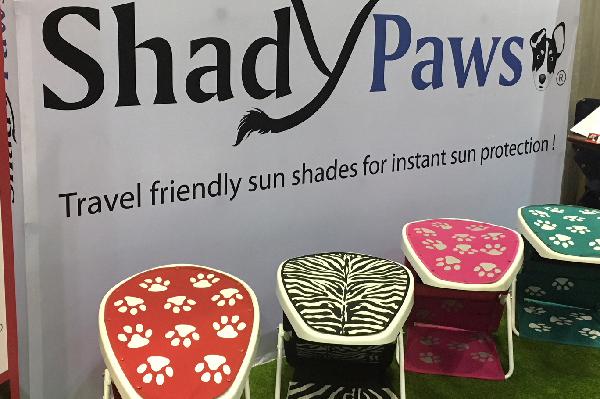 Shady Paws sunshade.