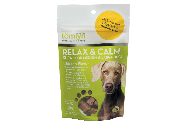 Tomlyn Relax & Calm Chews.