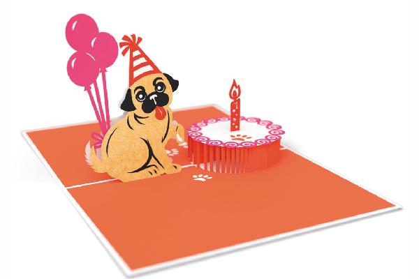 Lovepop Pug Cake Smash.
