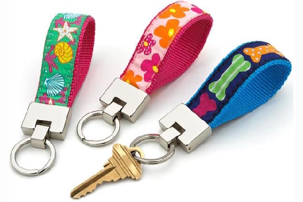 Up Country Spring-and Summer-Themed Key Rings.
