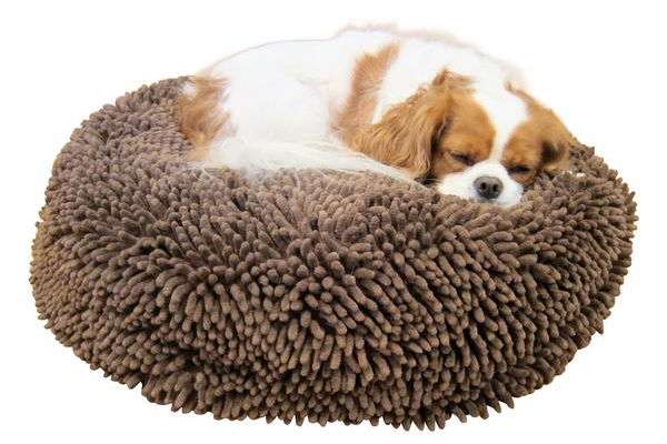 Super Snoozer Dog Bed: Dark Chocolate, Soggy Doggy ($85). soggydoggydoormat.com