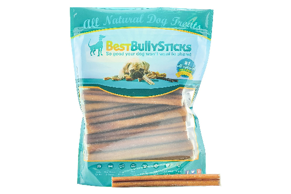 Supreme Bully Sticks by Best Bully Sticks - All Natural Dog Treats — 25 Pack, Best Bully Sticks ($40.99).