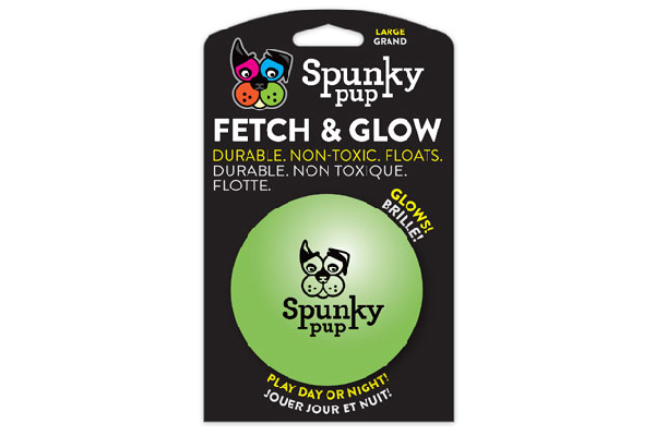 Fetch & Glow: Glows in the Dark, Durable, Floats, Spunky Pup. spunkypup.com