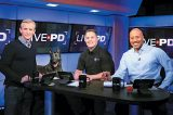 Live PD host Dan Abrams, Sgt. Denver Leverett and Flex plus analyst Tom Morris, Jr.