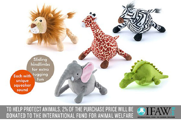 Safari Toy Collection, P.L.A.Y ($69). petplay.com