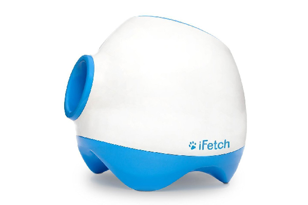 Too Interactive Ball Launcher for Dogs – Launches Standard Tennis Balls, Large, iFetch ($199.99). amazon.com