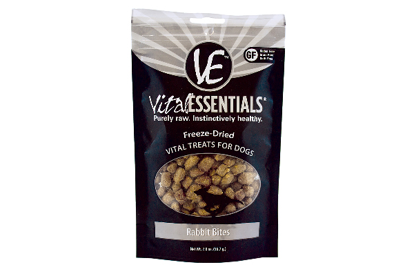 Freeze-Dried Vital Treats - Rabbit Bites, Vital Essentials (prices vary by retailer). vitalessentialsraw.com http://www.vitalessentialsraw.com/freeze-dried-vital-treats
