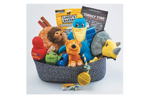 Dog Perfect Who's a Good Dog Basket (M/L).
