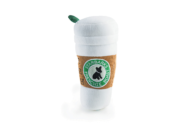 Starbucks Coffee Dog Toy.