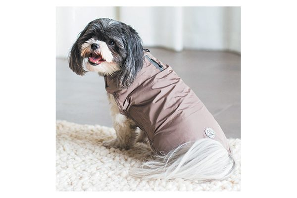 Petmate Wouapy Basic Raincoat for Small & Medium Dogs.