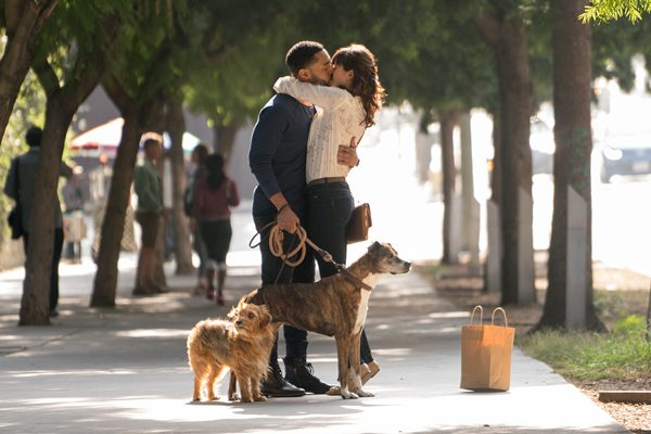 Tone Bell (left) and Nina Dobrev star in director Ken Marino's Dog Days, a LD Entertainment release.