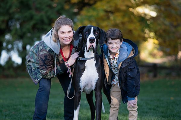 "Great Dane Bruce joins the cast of the Disney Channel's Original TV movie ""Freaky Friday."""