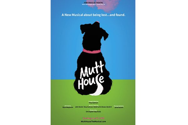 "Sing along with the pupalicious musical ""Mutt House"" at the Kirk Douglas Theatre in Culver City, CA."