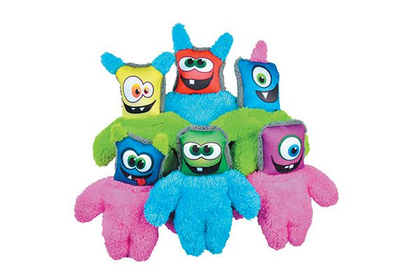 Duraplush Monster Toys.