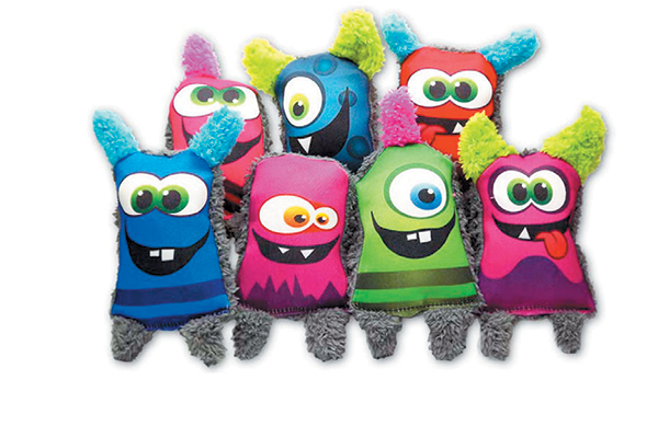 Duraplush Monster Toys will have your dog's tail wagging.