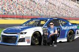 NASCAR driver Alex Bowman is a huge dog person.