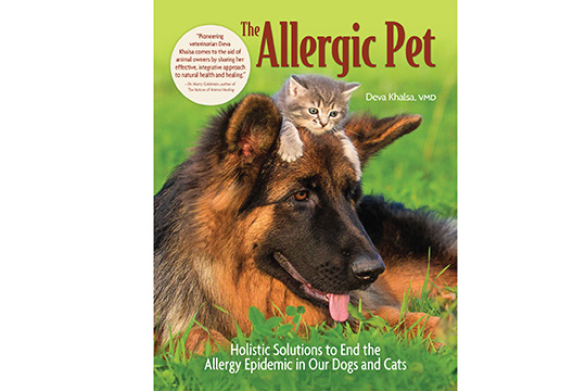 In an interview with Dogster, Dr. Deva Khalsa talks about her book The Allergic Pet that gives dog allergy holistic solutions and dog allergy home remedies to help end the epidemic of dog allergies.