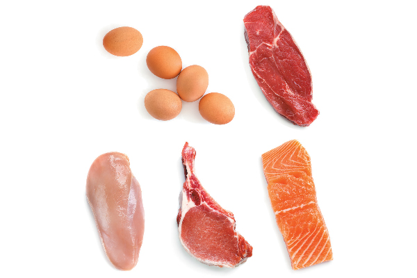 Foods with taurine — Meat, eggs and seafood are the richest sources of taurine. Sorry, vegetable lovers, but taurine is not found in plant foods.