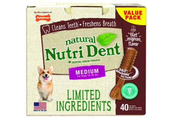 Nylabone Limited-Ingredient Dental Chews