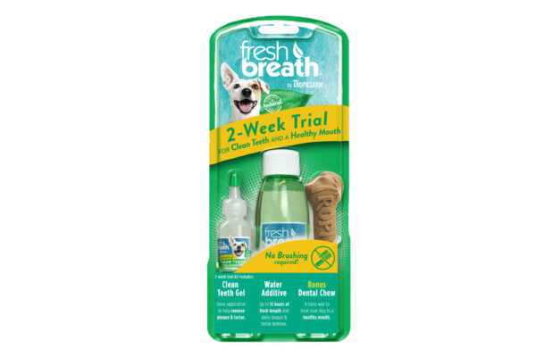 FreshBreath by TropiClean Dental Trial Kit