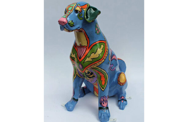 Check out Danville, California's outdoor public art display of painted dog sculptures.