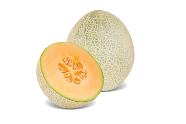 Cantaloupe contains vitamins and carotenoids that help aid vision! Photography by: ©All Produce | Getty Images