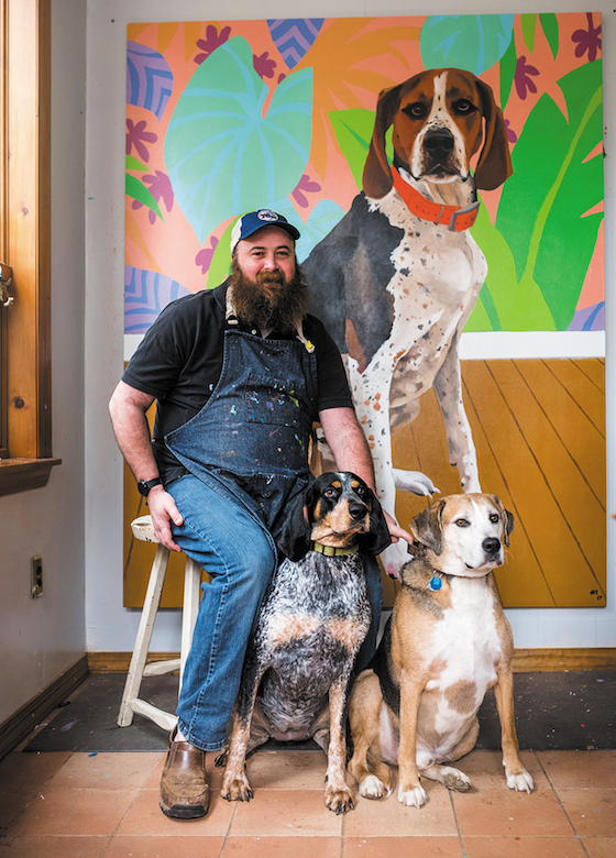 Photo of Meet Pet Artist Jay McClellan